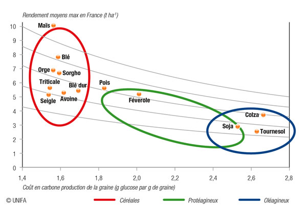 production proteines vegetales